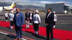 Luis Guillermo Solís ya está en Ecuador