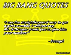 seungri ad I guess you said the same thing to that poor girl in Japan...lol Jk Jk Jk