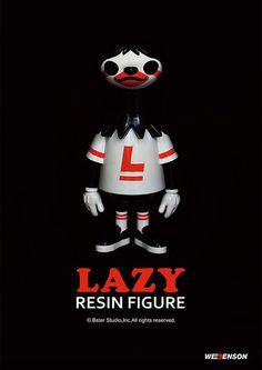 潮流玩具界的新星誕生!新品牌Bster Studio 首款作品 Lazy 現身! | 玩具人Toy People News