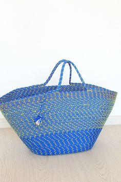 Rope tote bag sewing tutorial