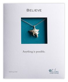 Another great find on #zulily! Sterling Silver Flying Pig Pendant Necklace #zulilyfinds