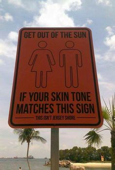 Increased melanin production is a sign your skin is damaged - the only healthy tan is a spray tan!