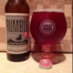 Rumble Oak Aged India Pale Ale (IPA) by Great Divide Brewing Company