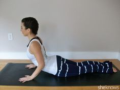 Healing yoga poses for people who have aches and pains from desk jobs