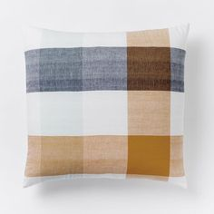 Steven Alan Bold Plaid Duvet Cover + Shams | west elm