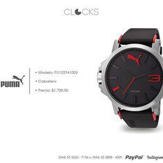 Reloj #Puma para caballero a sólo $1,700 http://instagram.com/clocksrelojes https://www.facebook.com/clocksrelojes https://twitter.com/ClocksRelojes