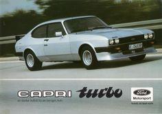 ford capri turbo motorsport
