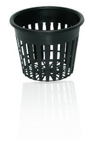 3 Inch Round Orchid/Hydroponics Slotted Mesh Net Pot - 50 Pack by Net Basket Pots. $16.82
