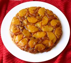 Pineapple Upside Down cake, looks delicious!!