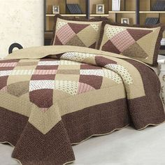 Living Room Decor Curtains, Bedroom Decor, Bed Sheet Sets, Bed Sheets, Quilting Projects, Quilting Designs, Quilt Set, Luxury Bedding Sets, Quilt Bedding