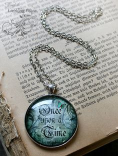 Fairytale Necklace ONCE upon a TIME by LookingGlassPendants