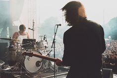 Death From Above 1979 @ Gov Ball in NYC. Was taken ... by MitchBrown