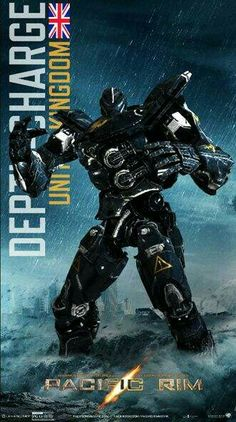 "Jaegar ""Depthcharge"" United Kingdom"
