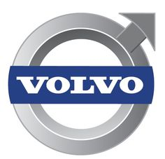 Volvo Cars Logo [EPS File] simple colours. very clean. dont like the serif typeface - very traditional.