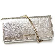 Jimmy Choo - Genuine new and preloved Jimmy Choo items for sale. Great discounts and free postage in the UK. Shop the collection today at Whispers Dress Agency Womens Designer Bags, Kate Spade Handbags, Cloth Bags, Silver Glitter, Purse Wallet, Leather Wallet, Jimmy Choo, Belts, Wallets