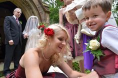 Wedding Photography with children.