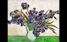 Vase with Irises. 1890