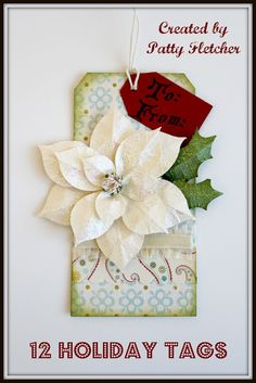 Crafting Rebellion: 12 Holiday Tags