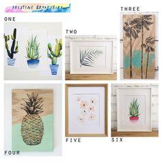 Favorite Etsy Shops for Affordable & Unique Art: Kristine Brookshire