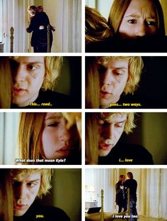 This made me so happy because I like to think of it as a reunion with Violet and Tate...