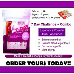 Call or text Sterling Quick @ (510) 200-3859 to get yours today! http://www.plexusslim.com/sterlingquick Ambassador #296538