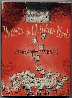 ¤ Women & Children First! - Jean-Jacques Sempé
