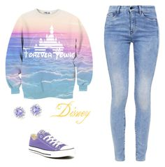 """""""Disney"""" by oliviamagic ❤ liked on Polyvore featuring G-Star, Converse and Ice"""