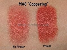 MAC Coppering Best saved for dramatic evening looks.