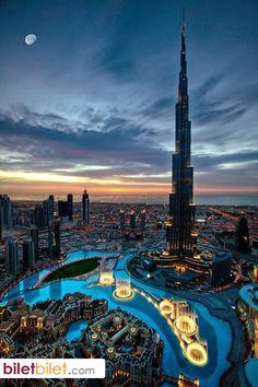 Dubai'de bulunan görkemli bir gökdelen; Burç Halife https://secure.biletbilet.com/etiket/363/ucuz-bilet