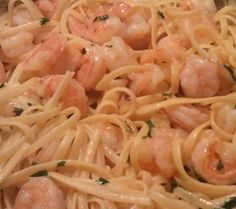 miracle noodles with garlic and shrimp