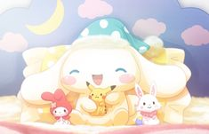 Sanrio Wallpaper, Kawaii Wallpaper, Cute Screen Savers, Cute Themes, Kawaii Chibi, Fairytale Art, Sanrio Characters, Sanrio Hello Kitty, Cute Pokemon