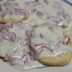 Chipped Beef Recipe by Robert Cream Beef Recipe, Cream Chipped Beef Recipe, Beef Gravy Recipe, Creamed Chipped Beef, Creamed Beef, Chip Beef Gravy, Beef Recipes, Cooking Recipes, Parmesan