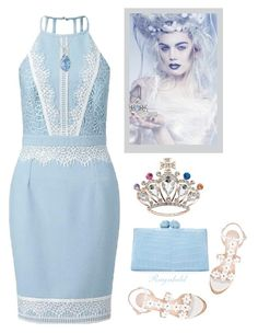 """""""Just Be a Queen"""" by ragnh-mjos ❤ liked on Polyvore featuring Lipsy, Oscar de la Renta, Nancy Gonzalez, Cathy Waterman, Effy Jewelry, contest, outfit, queen and fashionset"""