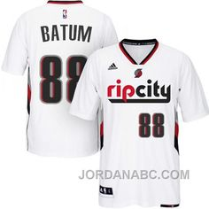 ... Buy Nicolas Batum Portland Trail Blazers Swingman Rip City Pride Jersey  With Sleeves from Reliable Nicolas ... 57a085d88