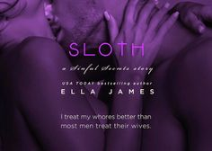 RED MOON...: #Teaser: Sloth by Ella James‏