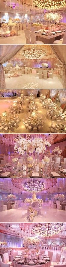 White magical hall- Reception