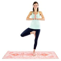 20 Beginner Yoga Moves for the Inflexible | via Womanista