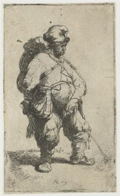 A man making water - Rembrandt