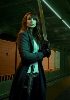 The Strain on FX | Season 2 | Mía Maestro as Dr. Nora Martinez.  I couldn't believe they killed her off.  OMG I can't wait till August 28th for season 3 , I love this show, but it scares the crap out of me at the same time.