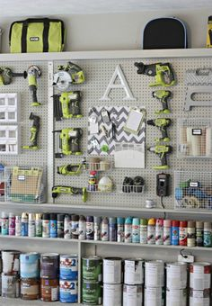 It is about that time of year to get the garage in order and organized! We've got 20 garage organization tips to get you motivated! http://ablissfulnest.com/ #garageorganization #designtips #organizationideas