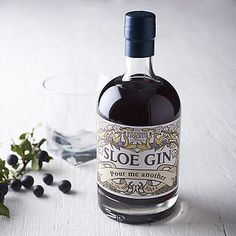 "Personalized Sloe Gin  www.LiquorList.com  ""The Marketplace for Adults with Taste"" @LiquorListcom   #LiquorList"