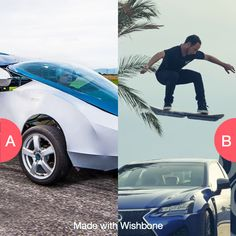 Flying car or hoverboard? Click here to vote @ http://getwishboneapp.com/share/10714859