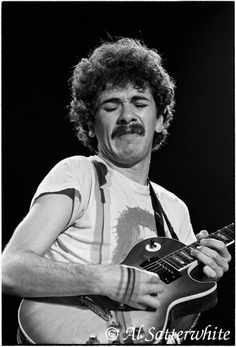 Carlos Santana. Los Angeles. January 18, 1973. Benefit for Managua Concert at the Forum / Los Angeles, CA. Photograph © 2013 Al Satterwhite. All rights reserved. No usage whatsoever without written permission - No Exceptions. #LittleBearProd