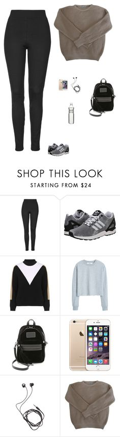 """""""Untitled #1521"""" by tayloremily218 on Polyvore featuring Topshop, adidas Originals, MANGO, Marc by Marc Jacobs, Diane Von Furstenberg, American Apparel and Dot & Bo"""