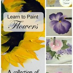 Learn How to Paint Flowers, one stroke at a time, FlowerPatchFarmhouse.com