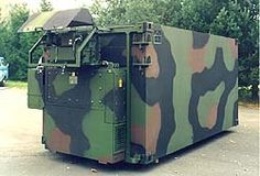 ZEPPELIN-Shelter® series K2. That's worlds most advanced communication shelter - we hope to get one as office and mobile server unit.