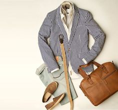 "A blazer and jeans are the best way to rock ""Casual Fridays"" at the office."