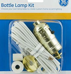 Make your own table lamps from favorite liquor bottles ideas and are you confused by the different types of lamp kits available so was one of aloadofball Gallery