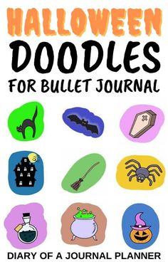 Embellish the pages of your halloween-themed bullet journal with these 11 spooky doodle tutorials! #halloween #halloweenbulletjournal #Bulletjournaldoodles #howtodraw #doodleguides #bulletjournalthemes Happy Doodles, Free Doodles, Simple Doodles, Bullet Journal And Diary, Bullet Journal Themes, Halloween Doodle, Halloween Drawings, Amazing Halloween Costumes, Easy Halloween