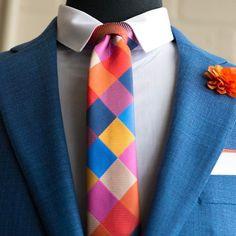 Multi Colored Checkered Necktie WWW.KINGKRAVATE.COM --- #mensfashion #menswear #menstyle #mensapparel #mensclothing #fashion #style #mensties #ties #bowtie #styleblogger #fashionblogger #dapper #bespoke #gentlemen #gentleman #fashionstylist #accessories #lapelpin #lapelflower #lapel #stylist #luxury #lifestyle #fashionblog #styleblog #streetfashion